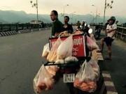 Tin tức trong ngày - Bỏ lại xe bánh mì, người đàn ông nhảy sông Đà tự tử