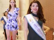 Thời trang - Chuyên gia Mỹ dạy thí sinh Hoa hậu Bản sắc Việt đi catwalk