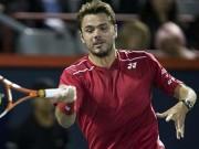"""Thể thao - Rogers Cup ngày 2: Wawrinka """"lết"""" vào vòng trong"""