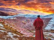 Thế giới - Ngắm Học viện Phật giáo lớn nhất thế giới ở Tây Tạng