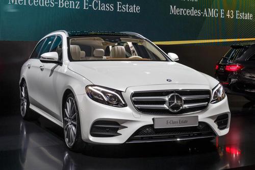 Mercedes-Benz E-Class Estate 2017 niêm yết giá tại Anh