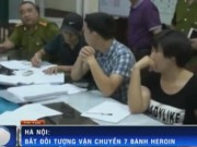 """Video An ninh - """"Nữ quái"""" chuyển phát nhanh 7 bánh heroin tại Ga HN"""