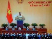 Tin tức trong ngày - Chính phủ do Thủ tướng Nguyễn Xuân Phúc đứng đầu ra mắt QH