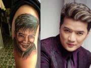 Ca nhạc - MTV - Fan cắn răng nén đau để xăm hình sao Việt lên người