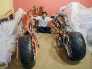 """Xe máy - Xe đạp - Dàn mô tô """"siêu khủng"""" của Việt Kiều tại Mỹ"""