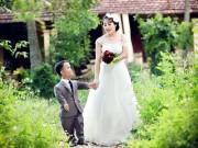 """Bạn trẻ - Cuộc sống - Đám cưới cổ tích """"chú lùn và bạch tuyết"""" ở Thanh Hóa"""
