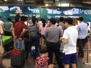 """Tin tức trong ngày - Cảnh sát điều tra """"âm thanh lạ"""" ở sân bay Nội Bài"""