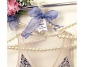 Thời trang - Làm mắc áo ngọc trai cực xinh để treo váy điệu