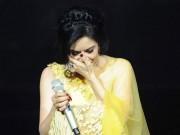 Ca nhạc - MTV - Thu Phương nghẹn ngào bật khóc trên sân khấu