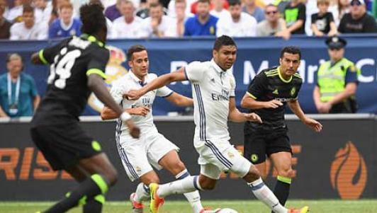 Real Madrid – Chelsea: Những phút cuối hú vía