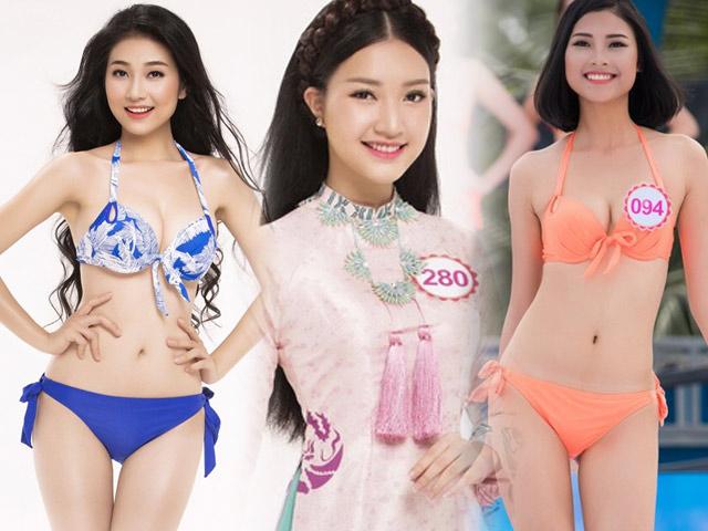 """7 """"bản sao"""" mỹ nữ sáng giá ở Hoa hậu Việt Nam 2016"""