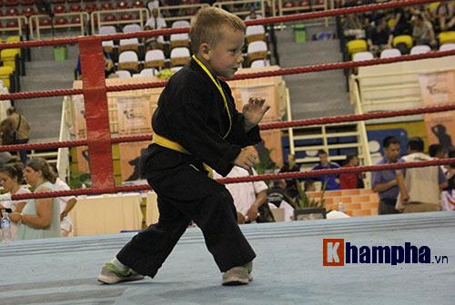 Màn múa võ Việt ấn tượng của cậu bé Tây 5 tuổi - 4
