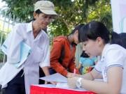 Giáo dục - du học - Bố con cùng tham gia tư vấn tuyển sinh đại học