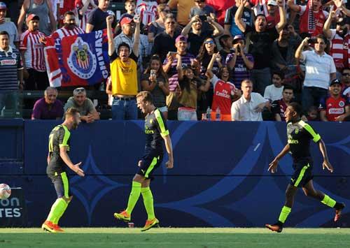 Guadalajaza - Arsenal: Khác biệt ở dứt điểm
