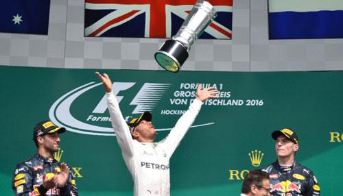 BXH German GP: Hamilton khẳng định vị thế số 1 - 1