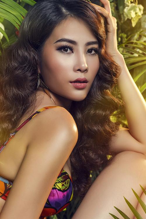 Hoa khôi Nam Em đại diện Việt Nam thi Hoa hậu Trái đất - 8