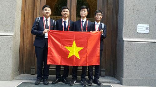 Việt Nam đoạt 2 Huy chương vàng Olympic Hoá học quốc tế - 1