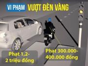 Tin tức trong ngày - [Đồ họa] Những điểm mới trong xử phạt vi phạm giao thông
