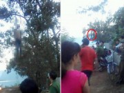 Tin tức trong ngày - Phát hiện thi thể nam thanh niên treo lơ lửng trên cây