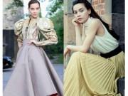 Thời trang - Hồ Ngọc Hà mải miết mặc đẹp với 1001 kiểu chân váy