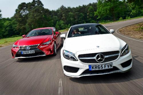 Nên chọn mua Mercedes C-Class Coupe hay Lexus RC?