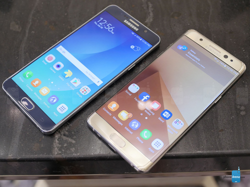 Danh gia Samsung Galaxy Note 7 va Galaxy Note 5