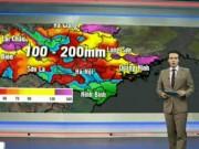 Tin tức trong ngày - Dự báo thời tiết VTV 3/8: Mưa lớn bao phủ toàn Bắc Bộ
