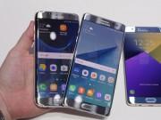 """Thời trang Hi-tech - Galaxy Note 7 đối đầu Galaxy S7 edge: """"Cong ăn cong"""""""