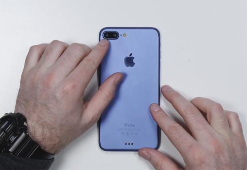 iPhone 7 Plus màu xanh mới, có máy ảnh kép