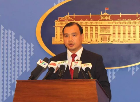 """Việt Nam phản ứng việc TQ kêu gọi """"chiến tranh trên biển"""""""