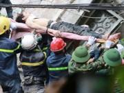 Tin tức trong ngày - Sập nhà 4 tầng giữa Thủ đô: Một nạn nhân đã tử vong
