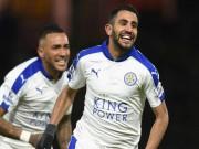 Bóng đá - Học Vardy, Mahrez muốn cho Arsenal vỡ mộng