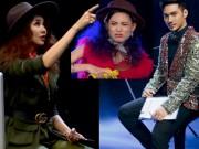 """Thời trang - Vietnam's Next Top: Thanh Hằng lại phải """"dọa"""" hot girl 1m54"""