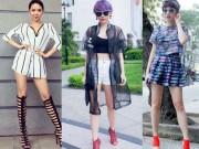 Thời trang - Sexy ra phố như ca sỹ Tóc Tiên