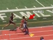 """Thể thao - Điền Kinh: 11 tuổi """"núp gió"""", bứt tốc lấy HCV Olympic"""