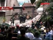 Video An ninh - NÓNG: Sập nhà ở 43 Cửa Bắc, 2 người đã tử vong