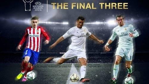 Cầu thủ hay nhất châu Âu: Messi bị loại, Ronaldo vào chung kết
