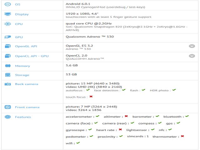 OnePlus 3 mini dùng RAM 6GB sắp ra mắt