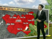 Tin tức trong ngày - Dự báo thời tiết VTV 5/8: Oi nóng quay trở lại Bắc Bộ