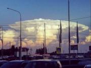 """Thế giới - Mây """"hạt nhân"""" bao trùm khiến người Nga hốt hoảng"""