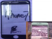 Dế sắp ra lò - Thiết kế phía trước của iPhone 7 giống như khuôn mặt mỉm cười?