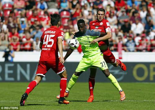 Mainz - Liverpool: Thêm một lần gây sốc