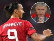 """Bóng đá - Tin HOT tối 7/8: Wenger chê Ibrahimovic """"quá già"""""""