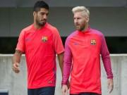 """Bóng đá - Vướng scandal, Messi và Suarez bị UEFA """"ngó lơ"""""""