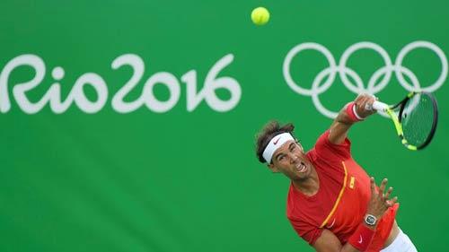 Tennis Olympic: Nadal, Murray dễ dàng qua vòng 1 - 2