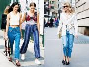 Thời trang - Mặc đồ jeans thế nào khi trời siêu nóng?