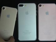 Thời trang Hi-tech - Video bộ ba iPhone 7 xuất hiện