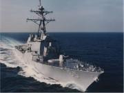 Thế giới - Tàu chiến Mỹ đầu tiên đến TQ sau vụ kiện Biển Đông