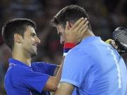 Thể thao - Kẹt thang máy 40 phút, Potro vẫn thắng sốc Djokovic