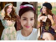 Thời trang - Diện khăn turban điệu đà như HLV The Face